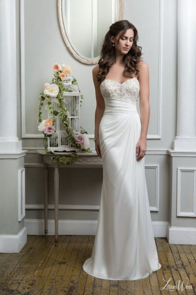 17 Best ideas about Strapless Wedding Dresses on Pinterest ...