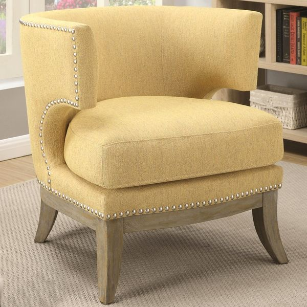 Grey Accent Arms Chairs