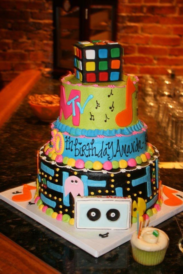 56 Best 80 S Cake Images On Pinterest