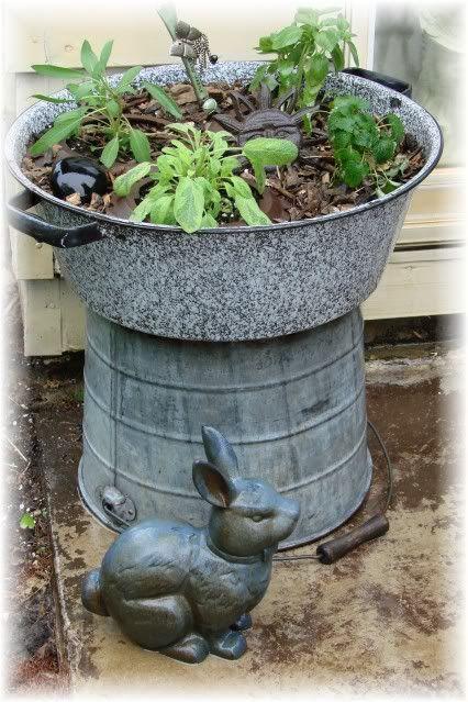 Raised Plant Stand