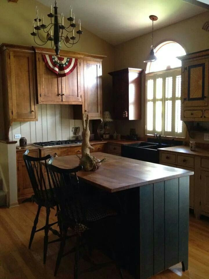 Black Painted Country Kitchen French