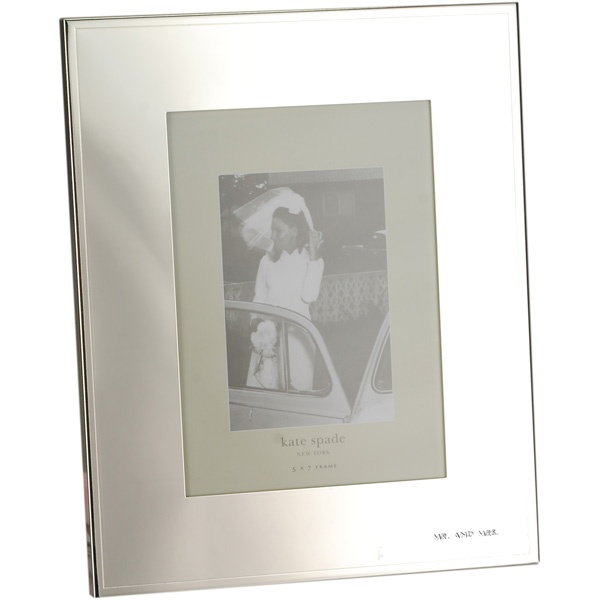 Kate Spade Wedding Picture Frames