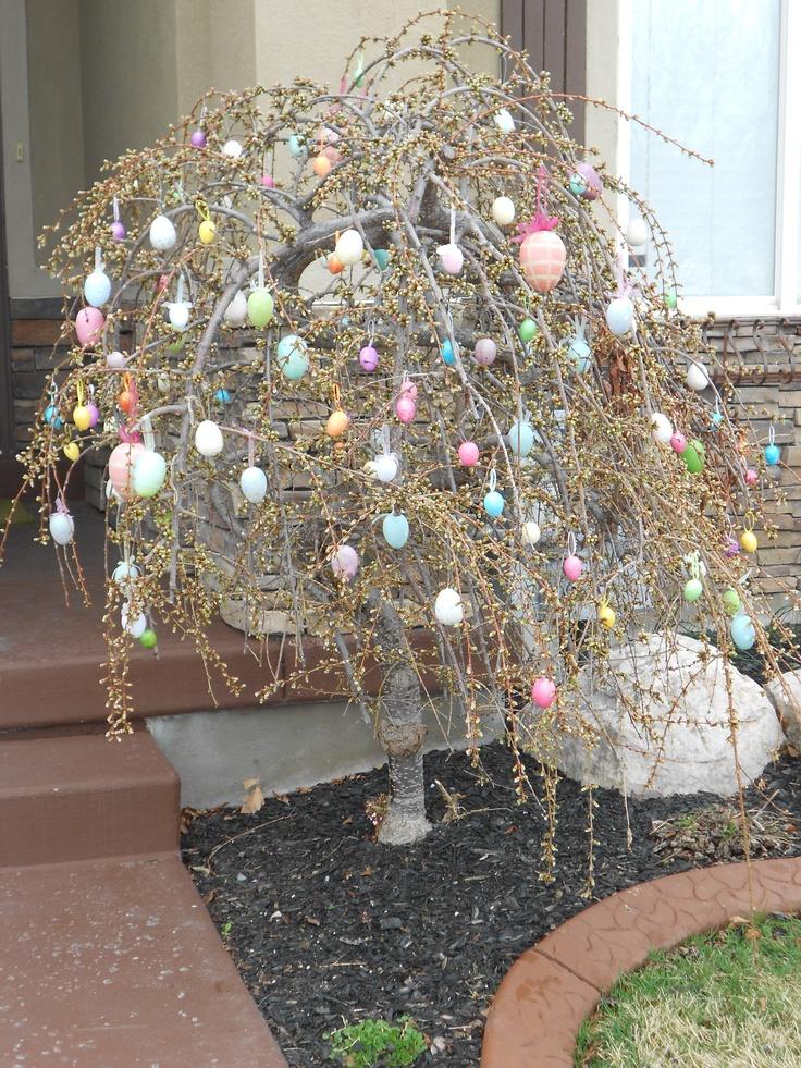 Paintings Egg Tree Easter