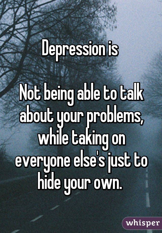 Men Hiding Depression Quotes