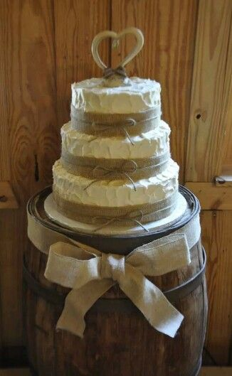 Ideas Country Theme Wedding Cake