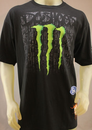 T Shirts Drink Monster Energy