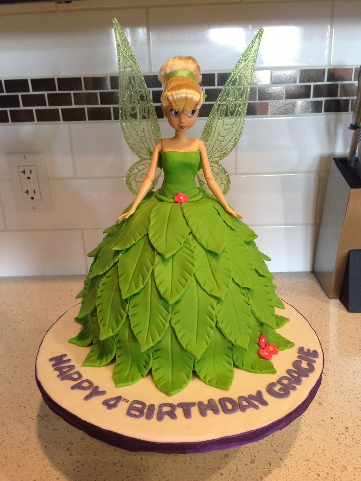 Tinkerbell A Cake Google Search Twins 4th Bdy Party