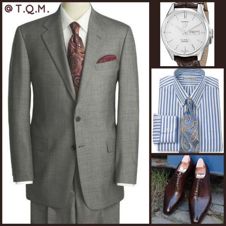 Paul Fredrick Suit Sale