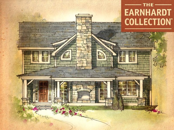 Giant Sequoia Home Plan Earnhardt Collection By