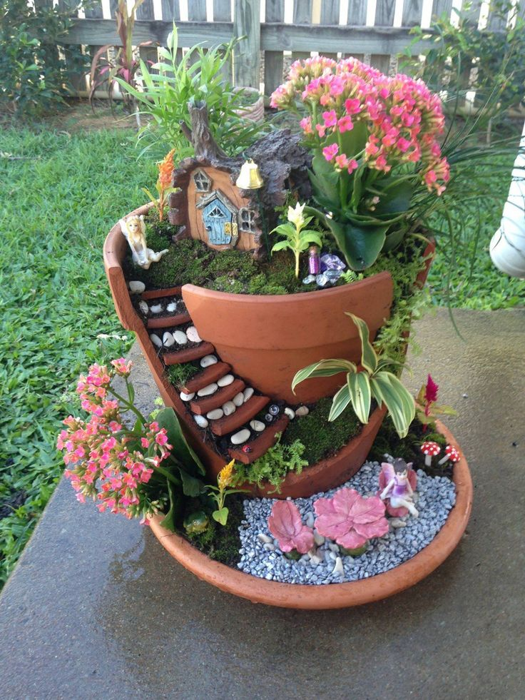 Tiny Terracotta Plant Pots