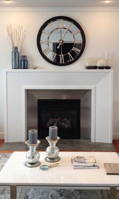 Mantel Everyday Ideas Fireplace Decorating