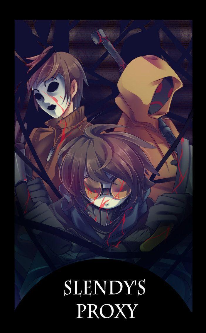 Ben Drowned X Eyeless Jack Sin