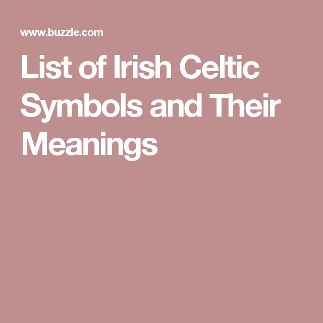 Scottish Gaelic Symbols And Meanings