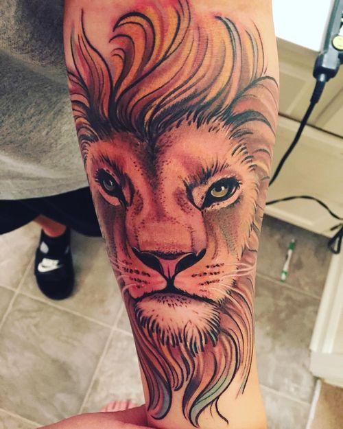 Tattoo Conquering Lion Judah