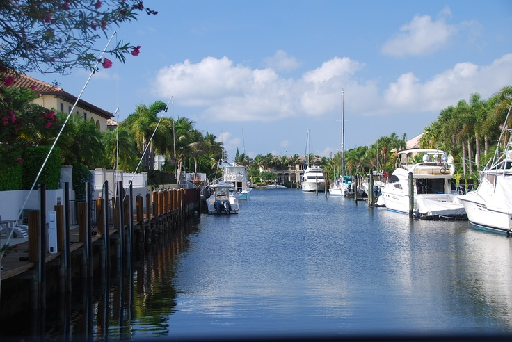 Florida Homes Boats