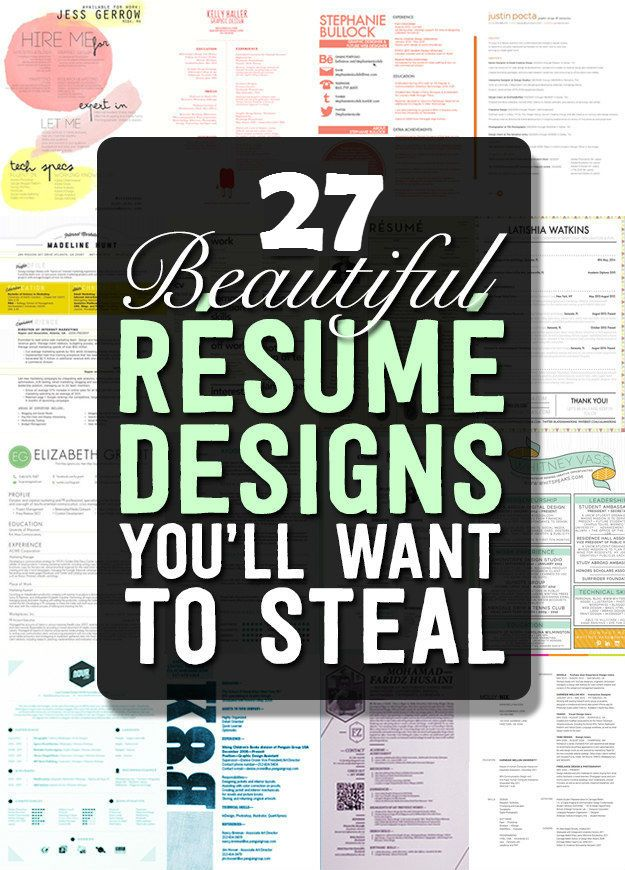 17 Best Images About Resume Temples Amp Examples On
