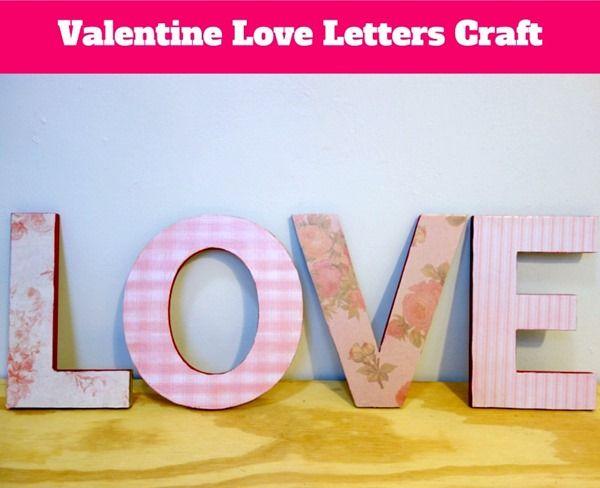 Valentines Letter Crush