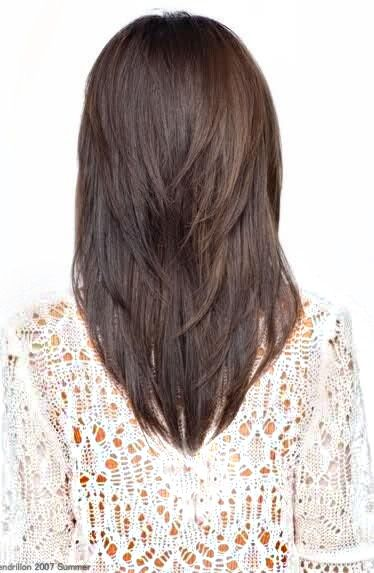 Medium V Cut Hairstyles
