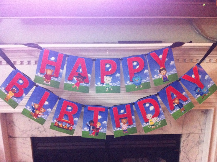 Banner Curious Birthday George