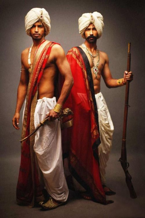 Dhoti And Turban Indian Traditional Men S Style Handsome