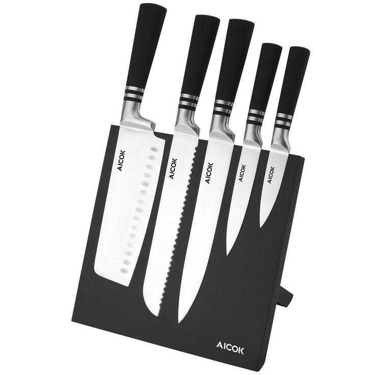 Black Without Knives Knife Block