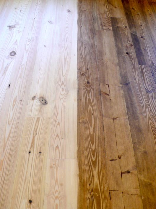 White Pine Floor Finish