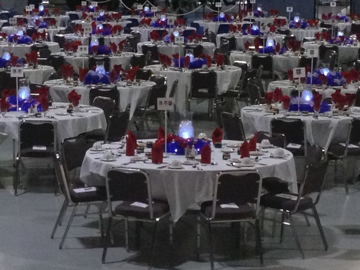 Air Military Ball Force Decorations