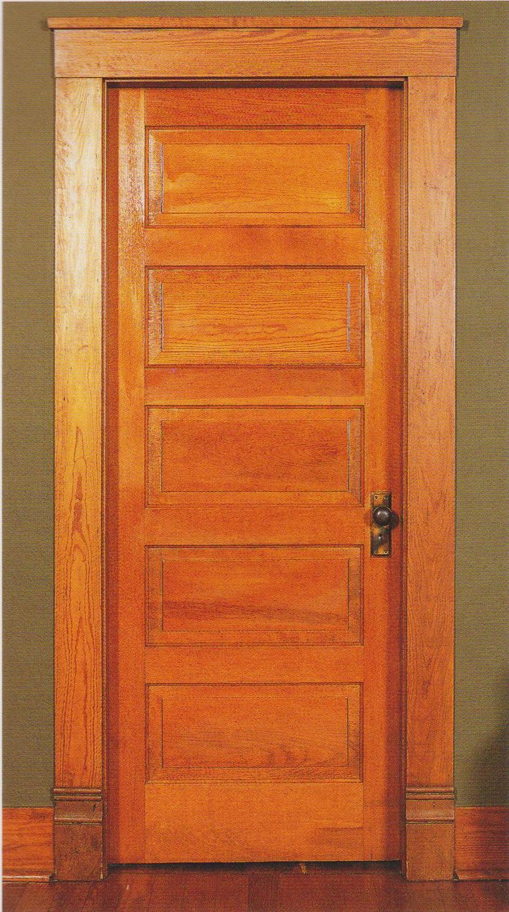 Arts And Crafts Style Interior Doors