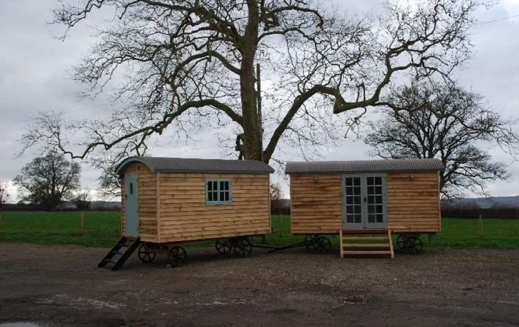 Luxurious Glamping Shepherds Huts Fabulous Alternative To