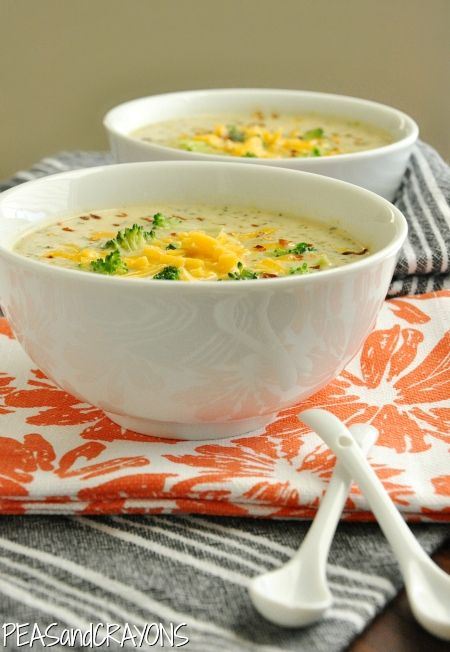 And Cheese Cream Soup Panera Broccoli