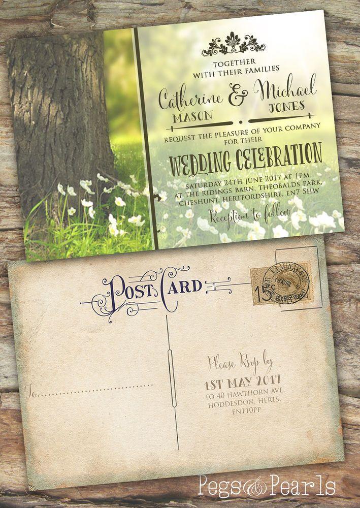 Cute Save Date Postcards
