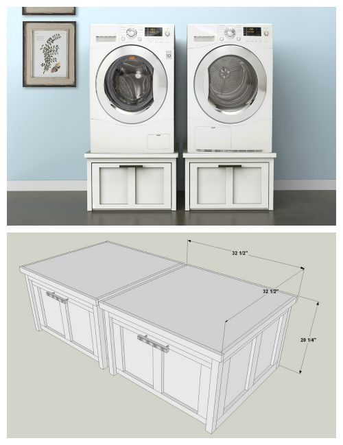 Front Load Washer And Dryer Stands