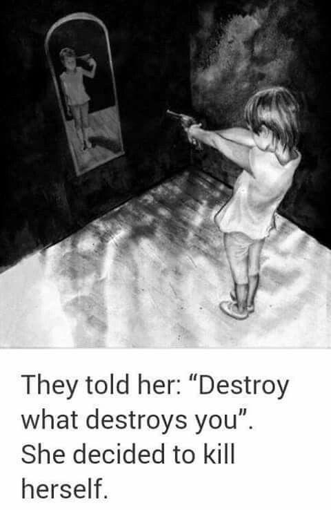 Emotional Dark Deep Drawings Depression