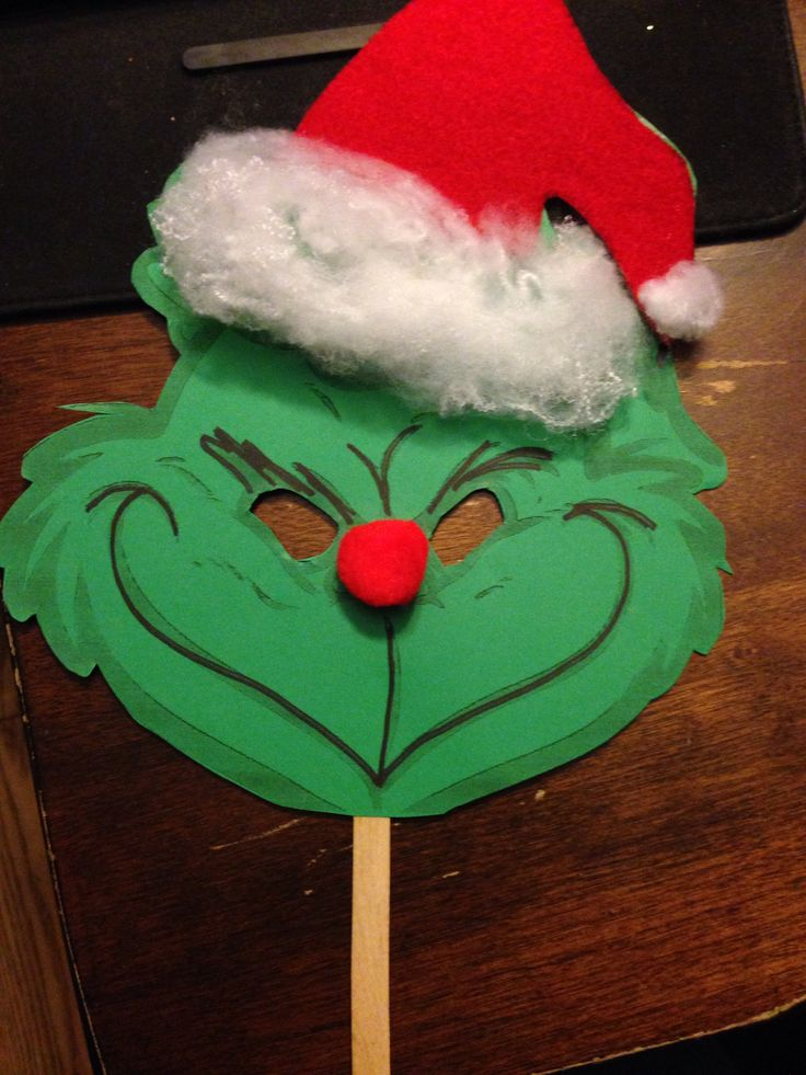Grinch Christmas Door Decorations Template
