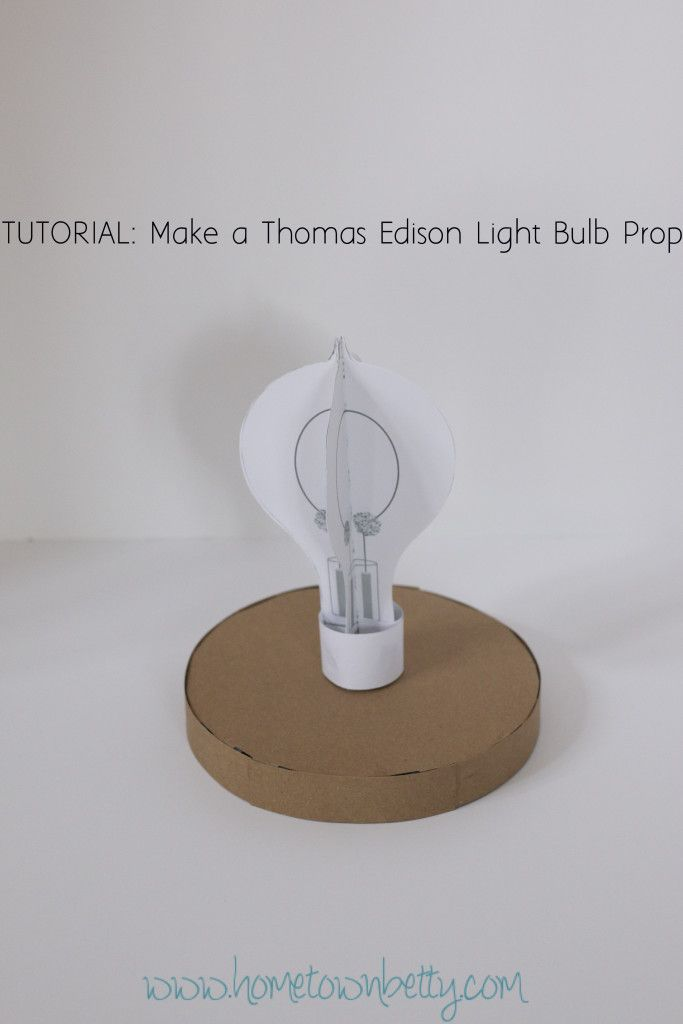 Thomas Edison Light Bulb Experiment
