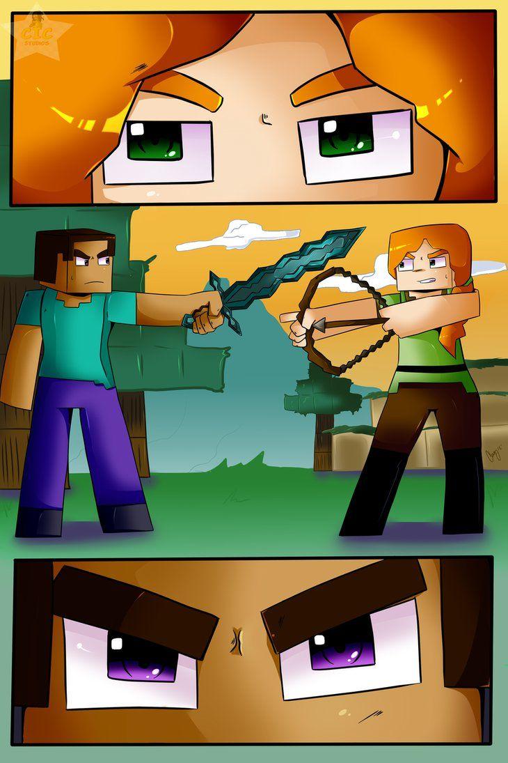 Minecraft Alex Steve Cute X