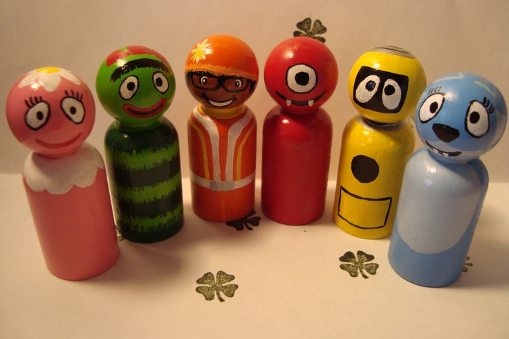 Yo Gabba Gabba Christmas Ornaments