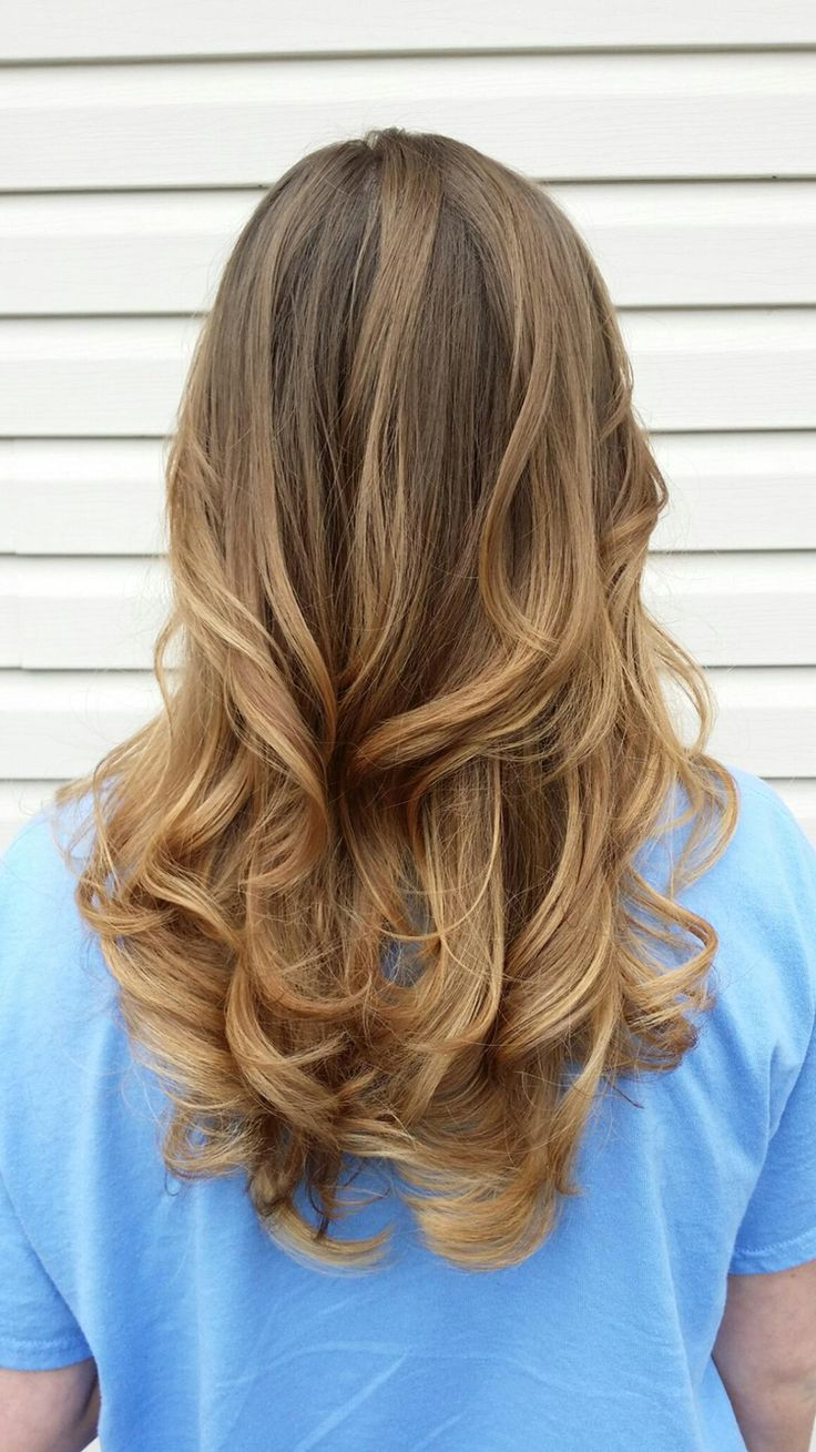 Brown Light Brown Ombre Hair