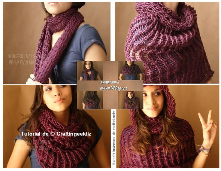Directions Knit Infinity Scarf