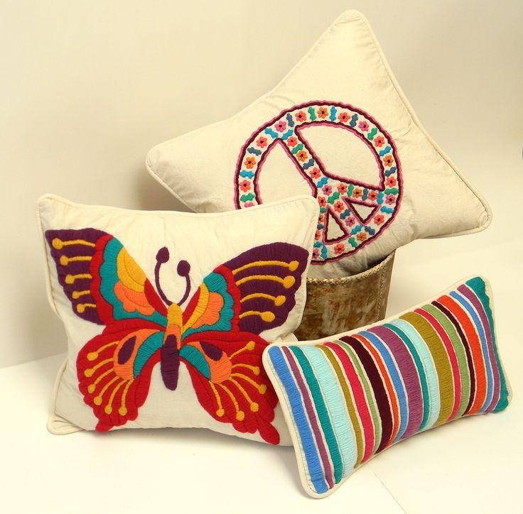 Bicycle Applique Pillows Pinterest