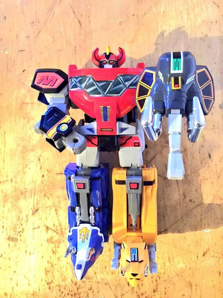 Blizzard Rangers Thunder Power Megazord Dino