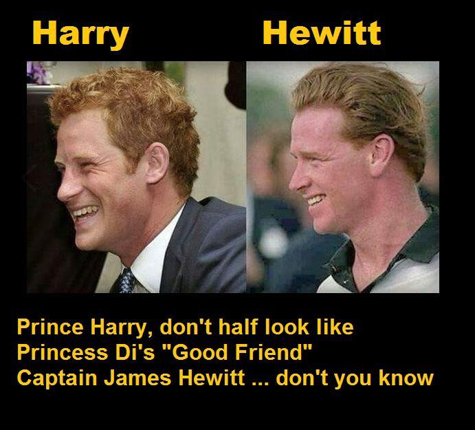 How Does Royal Family Not Know James Hewitt Harrys Father