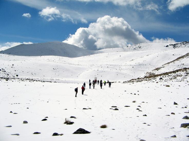 Skiing Nevado Toluca De