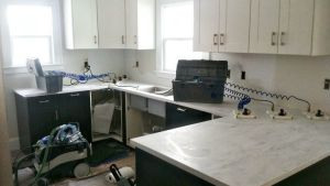 Danks And Honey: Kitchen Renovation Solid Surface