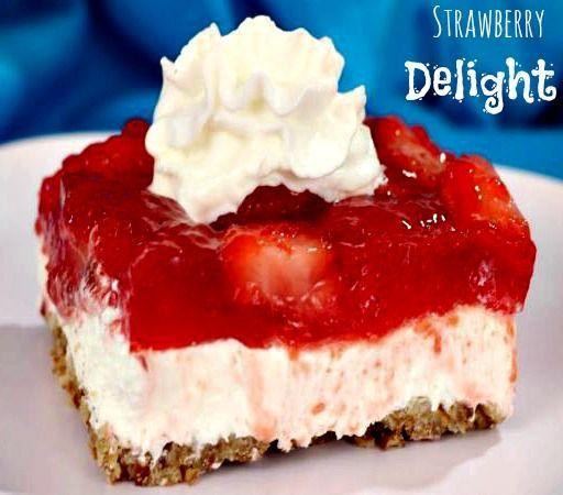 Paula Deen Strawberry Cake Jello