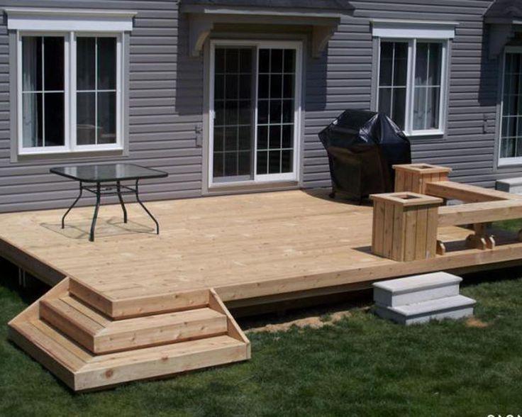Backyard Deck Designs Plans