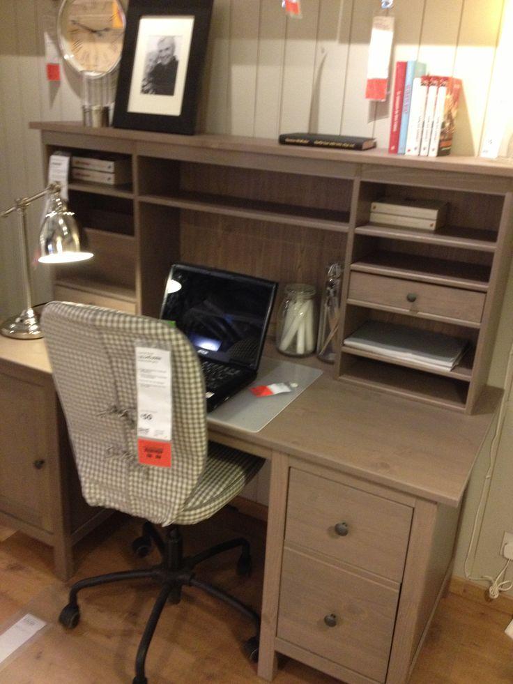 Ikea Hemnes Desk My Home Office Pinterest Hemnes And