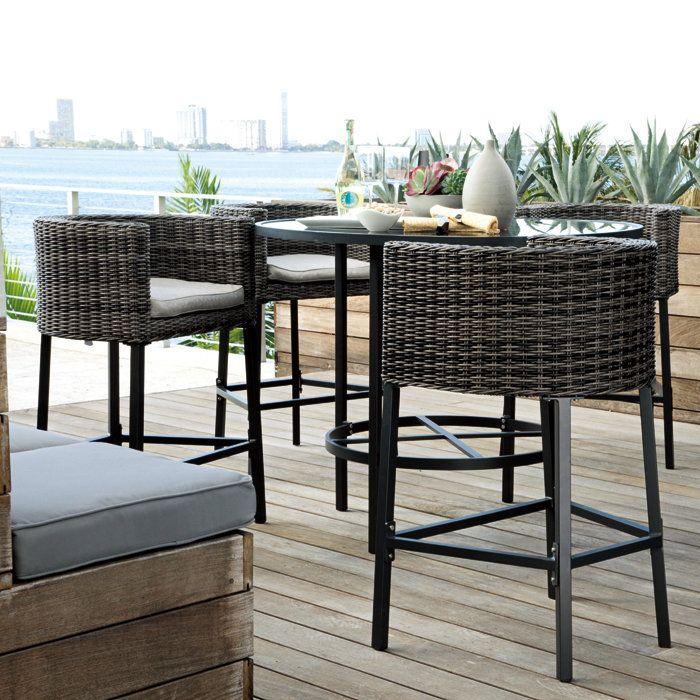 Furniture Patio Bar Height