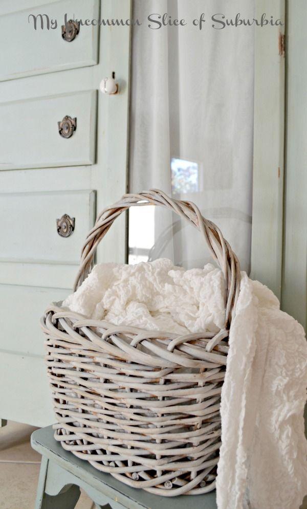 Dresser Wicker Baskets