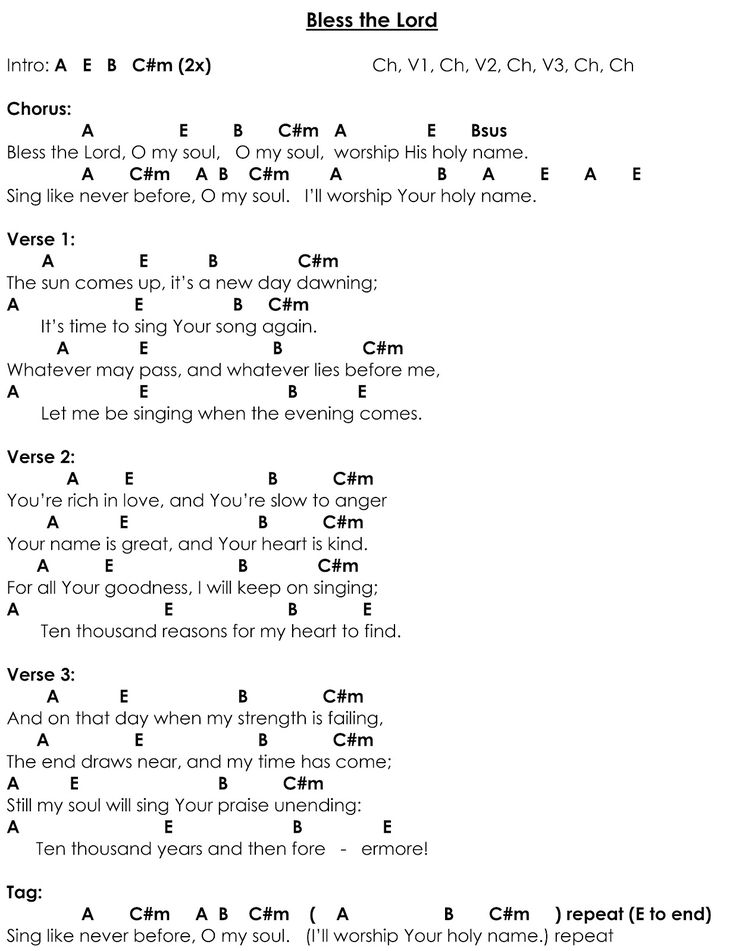 Awesome 10000 Reason Chords Crest Basic Guitar Chords For